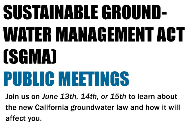 SGMA and IA meeting advertisement